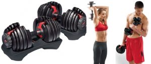 Bowflex SelectTech 552 (Pair) Adjustable Dumbbells