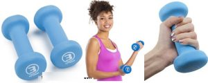 Pair of Neoprene Body Sculpting Hand Weights