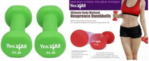 Yes4All Deluxe Neoprene Dumbbell