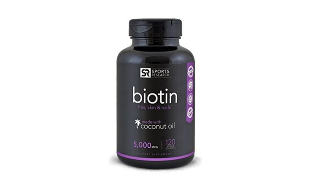 This image has an empty alt attribute; its file name is Biotin-5000mcg-Per-Veggie-Softgel-1024x614.jpg